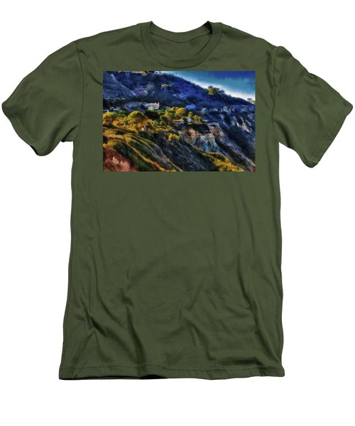 Modern Cliff Dwellers Men's T-Shirt (Slim Fit) by Joseph Hollingsworth