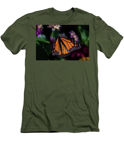 Men's T-Shirt (Slim Fit) featuring the photograph Monarch by Jay Stockhaus