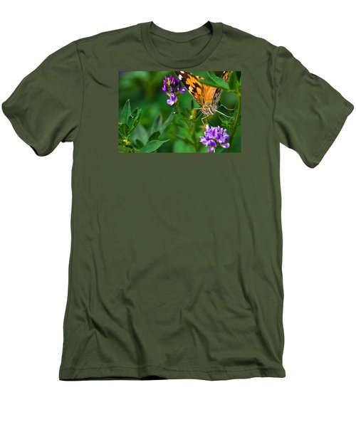 Monarch Men's T-Shirt (Slim Fit) by Marlo Horne