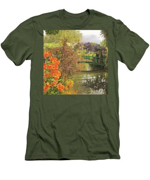 Monet Park Men's T-Shirt (Athletic Fit)