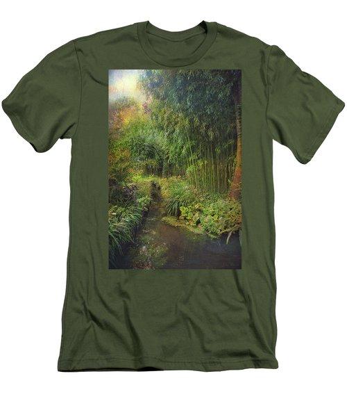 Monets Paradise Men's T-Shirt (Athletic Fit)