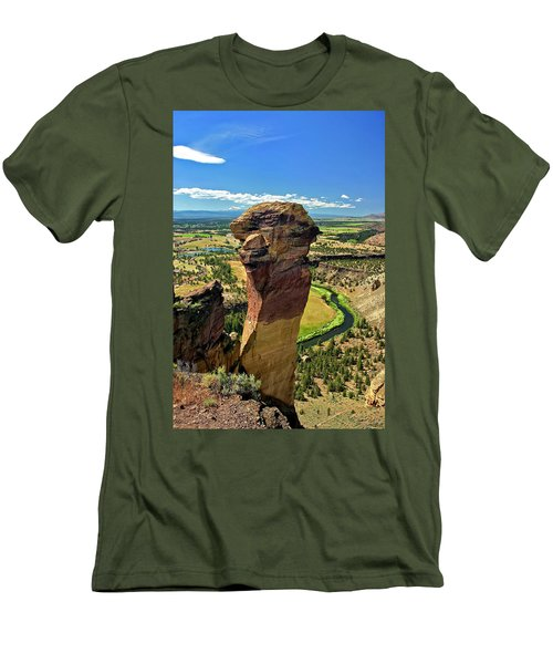 Monkey Face Men's T-Shirt (Athletic Fit)