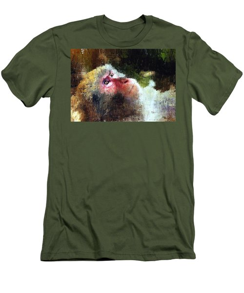 Monkey Wisdom Men's T-Shirt (Athletic Fit)