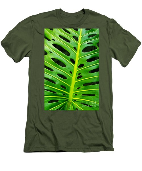 Monstera Leaf Men's T-Shirt (Athletic Fit)