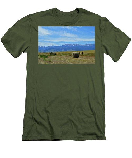 Montana Scene Men's T-Shirt (Athletic Fit)