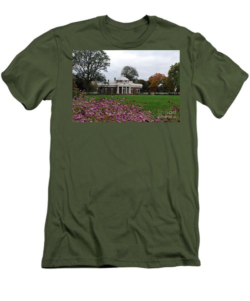 Men's T-Shirt (Slim Fit) featuring the photograph Monticello by Eric Liller