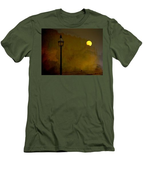 Moon Walker Men's T-Shirt (Athletic Fit)