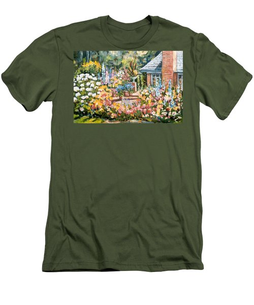 Moore's Garden Men's T-Shirt (Slim Fit) by Alexandra Maria Ethlyn Cheshire