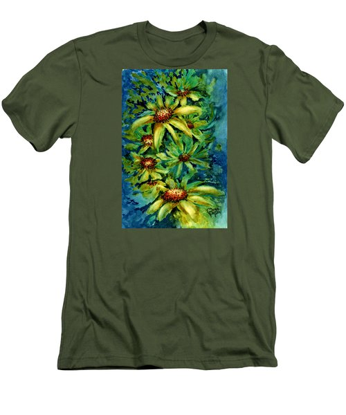 Morning Daisies Men's T-Shirt (Athletic Fit)