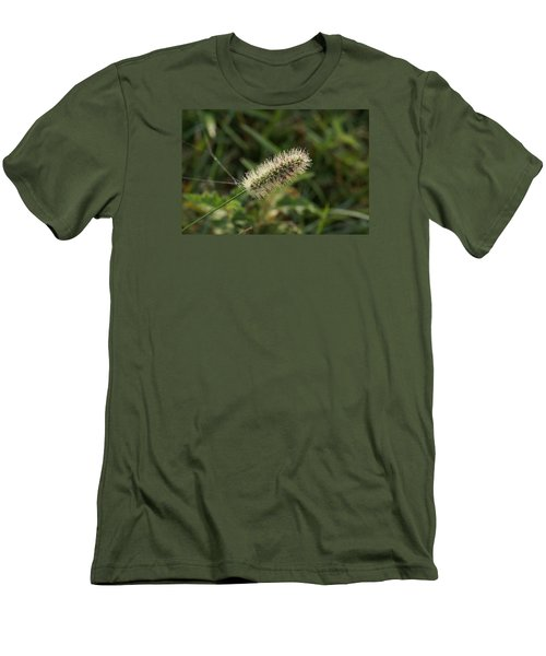 Men's T-Shirt (Slim Fit) featuring the photograph Morning Dew by Heidi Poulin