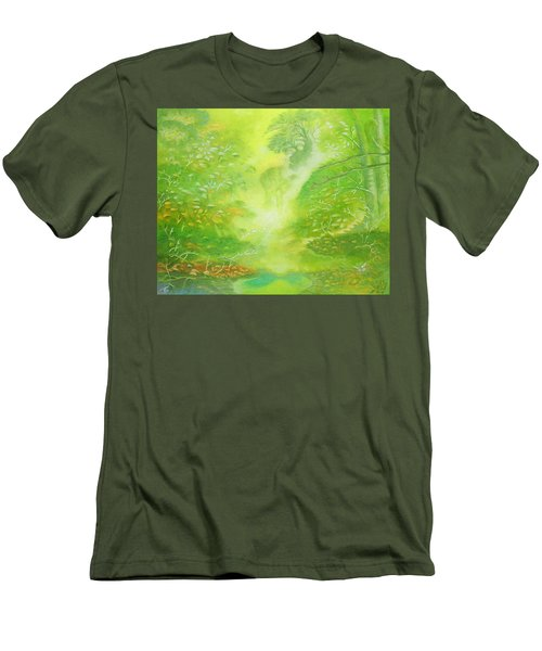 Morning Flora Men's T-Shirt (Athletic Fit)
