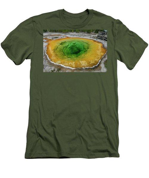 Morning Glory Men's T-Shirt (Slim Fit) by Alpha Wanderlust