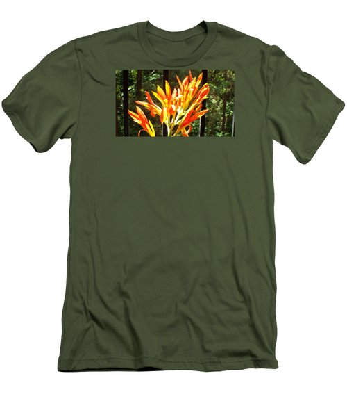 Morning Glory Men's T-Shirt (Slim Fit) by Jake Hartz