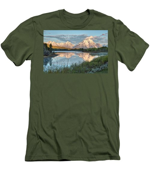 Morning Light At Oxbow Bend Men's T-Shirt (Athletic Fit)