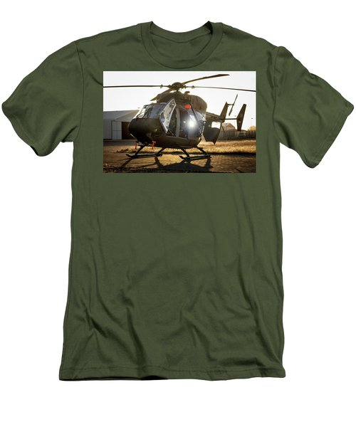Men's T-Shirt (Athletic Fit) featuring the photograph Morning Light by Paul Job