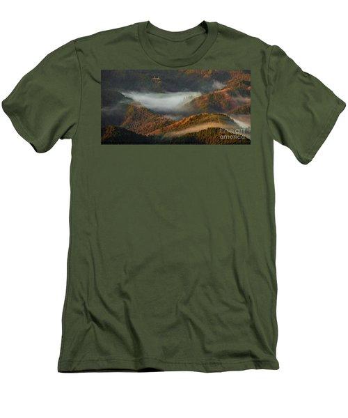 Men's T-Shirt (Slim Fit) featuring the photograph Morning Light by Tatsuya Atarashi