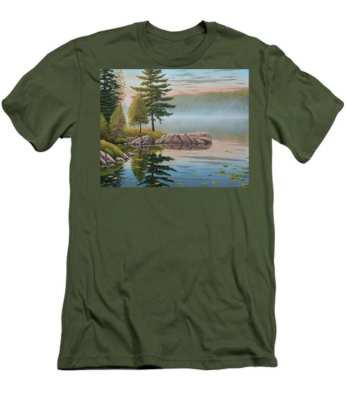 Morning Stillness Men's T-Shirt (Athletic Fit)