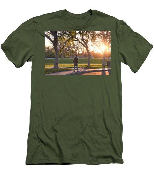Morning Stroll Men's T-Shirt (Athletic Fit)