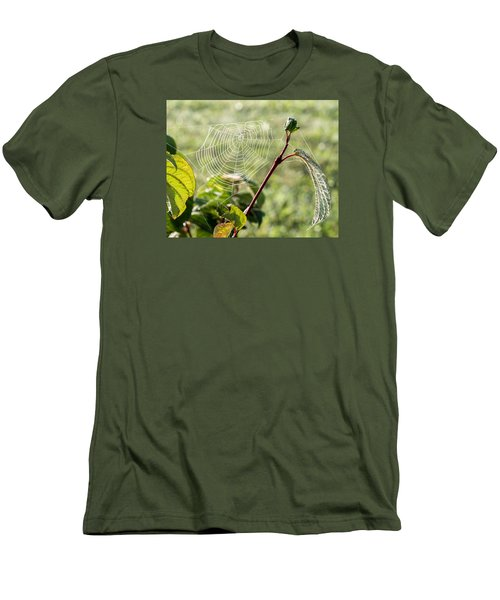 Morning Web #1 Men's T-Shirt (Athletic Fit)