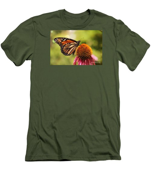 Men's T-Shirt (Slim Fit) featuring the photograph Morning Wings by Yumi Johnson