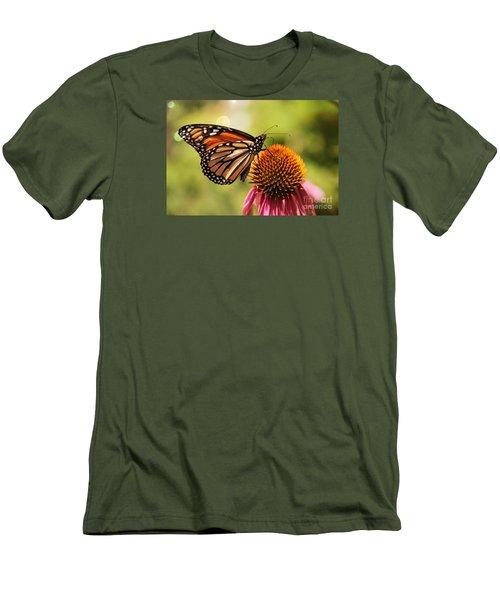 Morning Wings Men's T-Shirt (Slim Fit) by Yumi Johnson