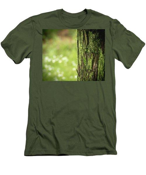 Moss Men's T-Shirt (Slim Fit) by Hyuntae Kim