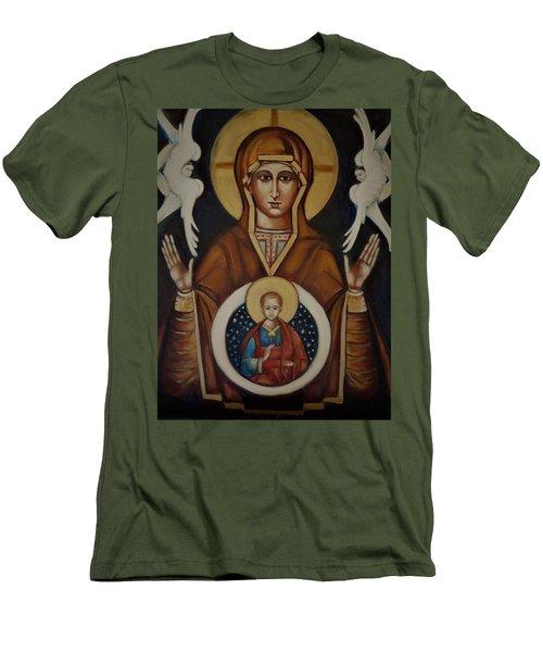 Mother Of God Men's T-Shirt (Athletic Fit)