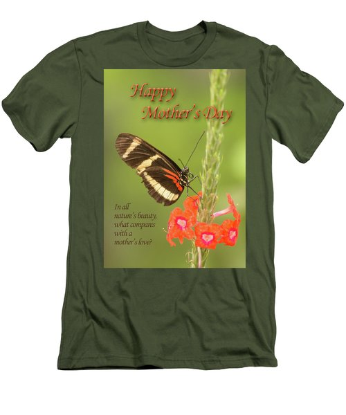 Mother's Day-butterfly Men's T-Shirt (Athletic Fit)