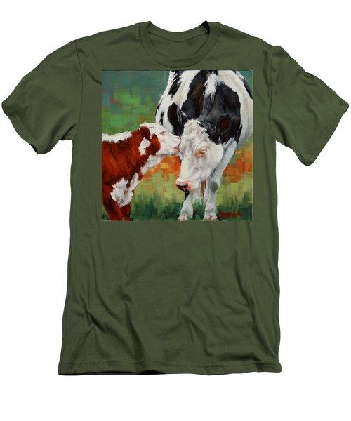 Mothers Little Helper Men's T-Shirt (Slim Fit) by Margaret Stockdale