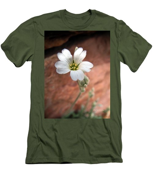 Men's T-Shirt (Slim Fit) featuring the photograph Mountain Beauty by RC DeWinter
