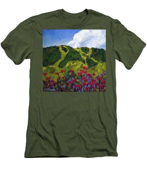 Mountain Blooms Men's T-Shirt (Athletic Fit)