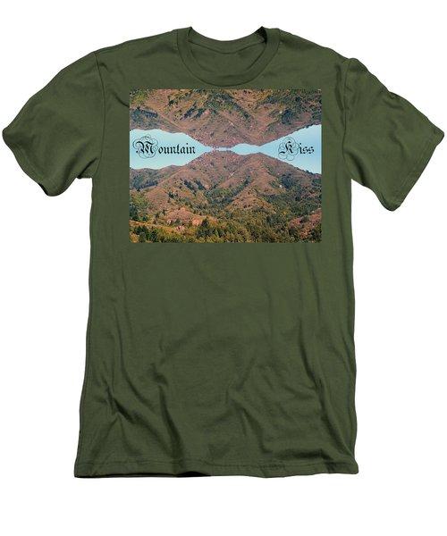 Mountain Kiss  Men's T-Shirt (Athletic Fit)