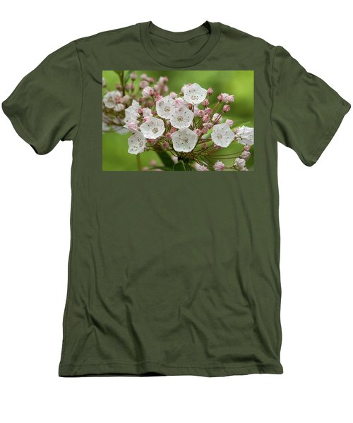 Mountain Laurel Men's T-Shirt (Athletic Fit)