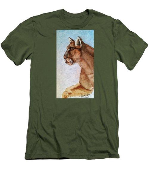 Mountain Lion Men's T-Shirt (Slim Fit)