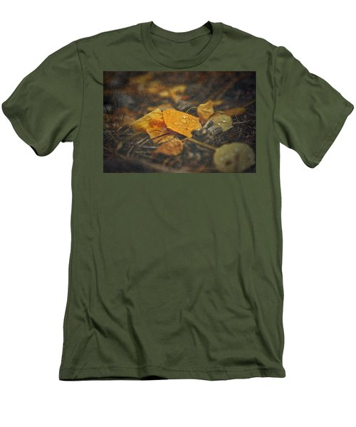 Men's T-Shirt (Slim Fit) featuring the photograph Mountain Months  by Mark Ross