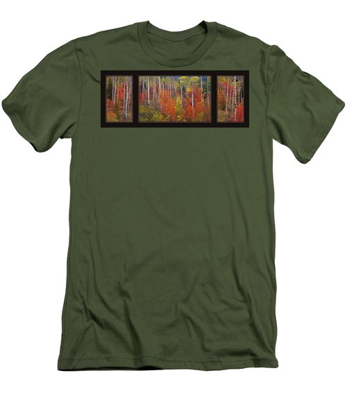 Mountain Of Color Men's T-Shirt (Athletic Fit)