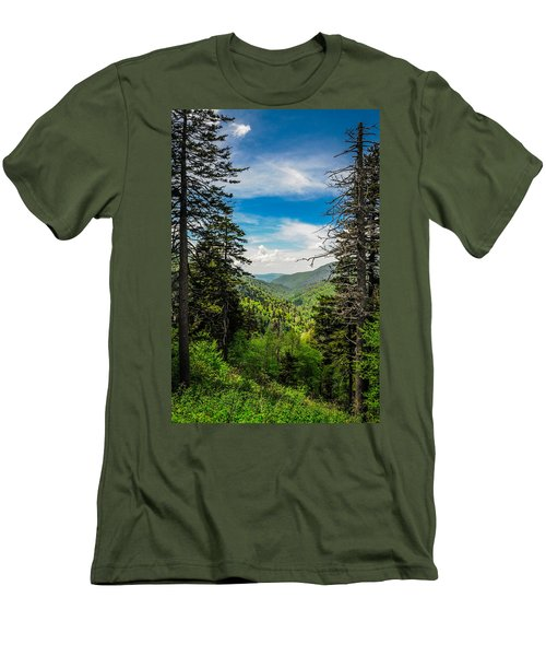 Mountain Pines Men's T-Shirt (Athletic Fit)