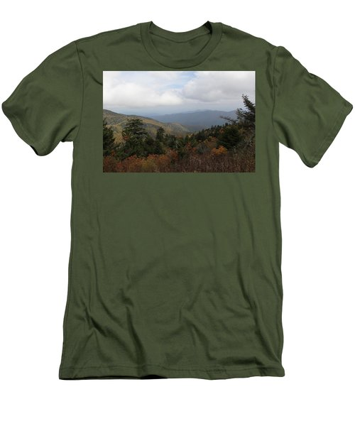 Mountain Ridge View Men's T-Shirt (Athletic Fit)