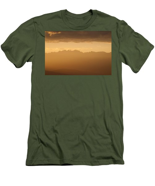 Mountain Shadows Men's T-Shirt (Slim Fit) by Colleen Coccia