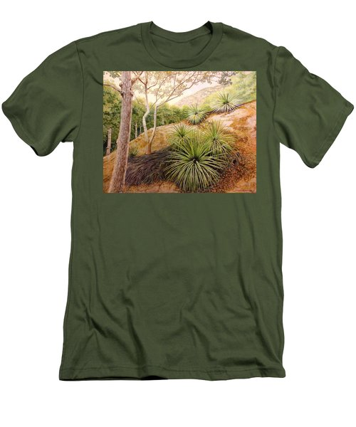 Mountian Yucca Men's T-Shirt (Athletic Fit)