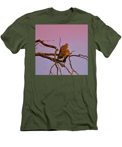 Mourning Doves Men's T-Shirt (Athletic Fit)