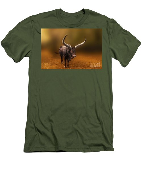 Mr. Bull From Africa Men's T-Shirt (Athletic Fit)