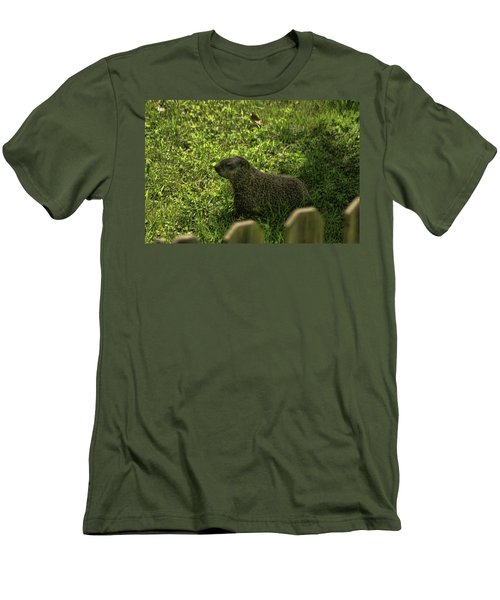 Mr Woodchuck Men's T-Shirt (Athletic Fit)