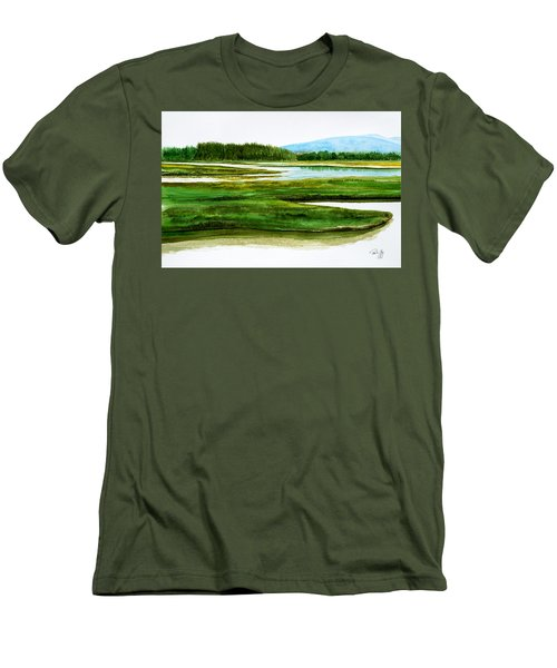 Mt Desert Island Men's T-Shirt (Athletic Fit)