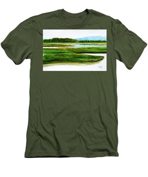 Mt Desert Island Men's T-Shirt (Athletic Fit)
