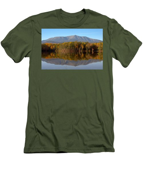 Mt Katahdin Baxter State Park Fall 1 Men's T-Shirt (Athletic Fit)