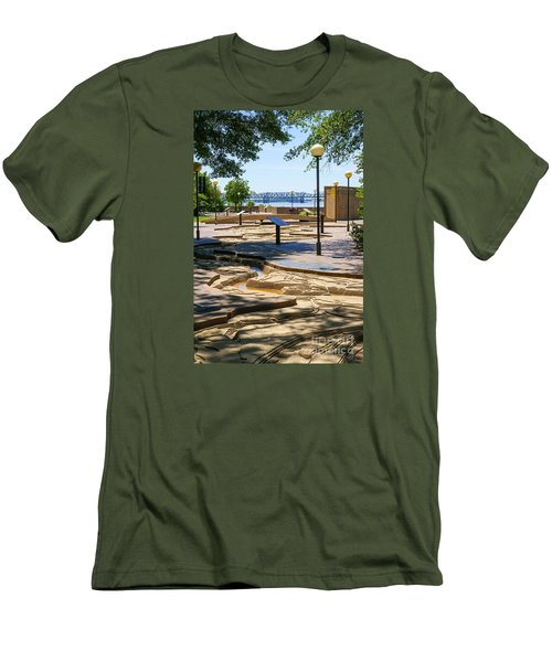 Mud Island Park Men's T-Shirt (Athletic Fit)