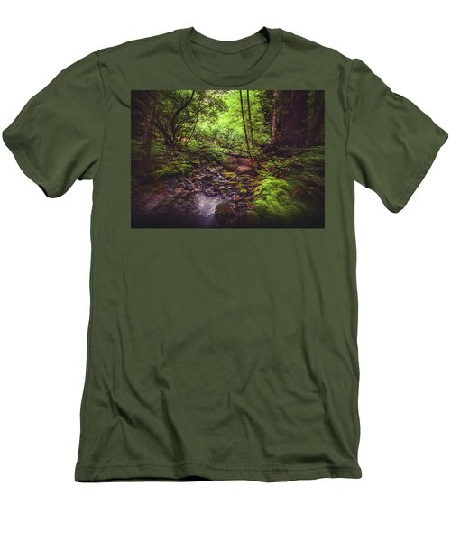 Muir Woods No. 3 Men's T-Shirt (Slim Fit) by Laura DAddona