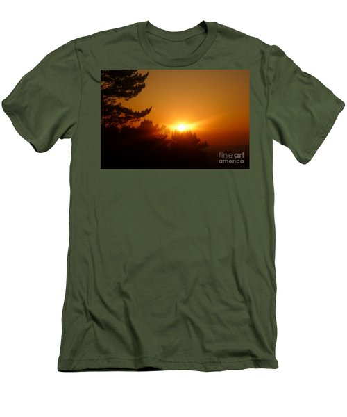 Men's T-Shirt (Slim Fit) featuring the photograph Mulholland  by Nora Boghossian