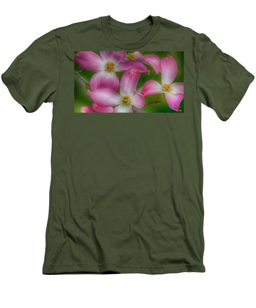 Men's T-Shirt (Slim Fit) featuring the photograph Mulligan by Skip Tribby